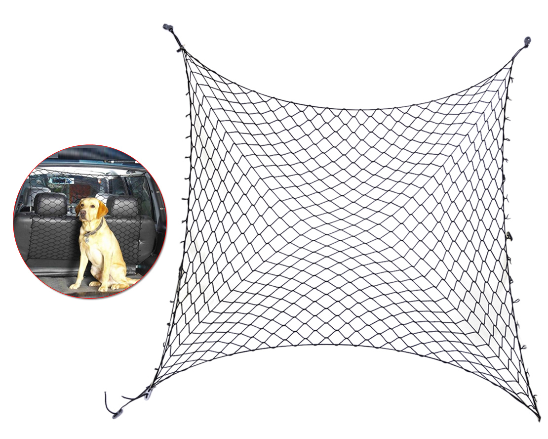 Car Van Suv Truck Cargo Seat Area Pet Dog Barrier Net