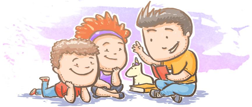 Ilustração do Calendário da Gentileza - Outubro