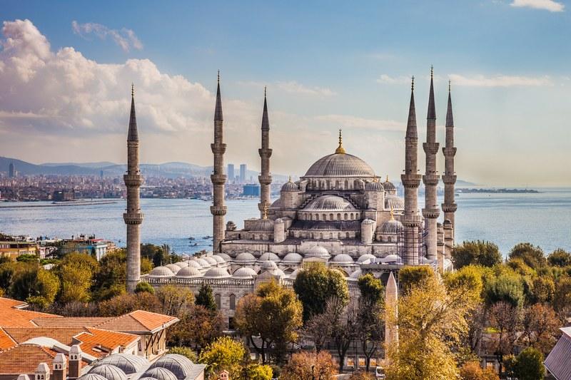 مسجد السلطان احمد في اسطنبول