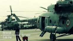 Helicopters ready for rescue operation in Jolly Grant in Dehradun