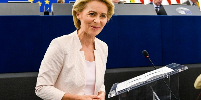 Presseerklärung von Präsidentin von der Leyen zum mehrjährigen Finanzrahmen und dem Aufbauinstrument
