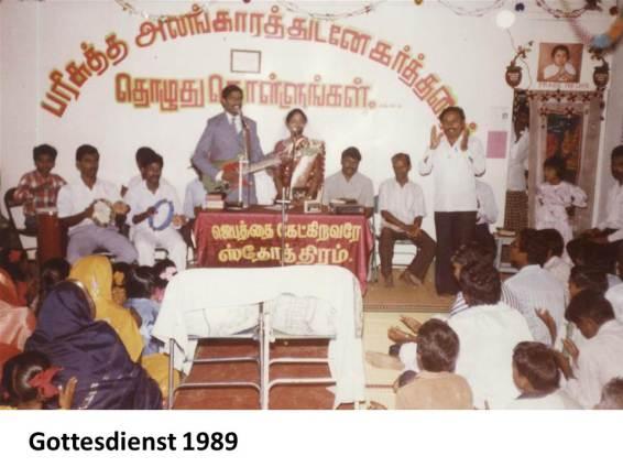 Gottesdienst 1989