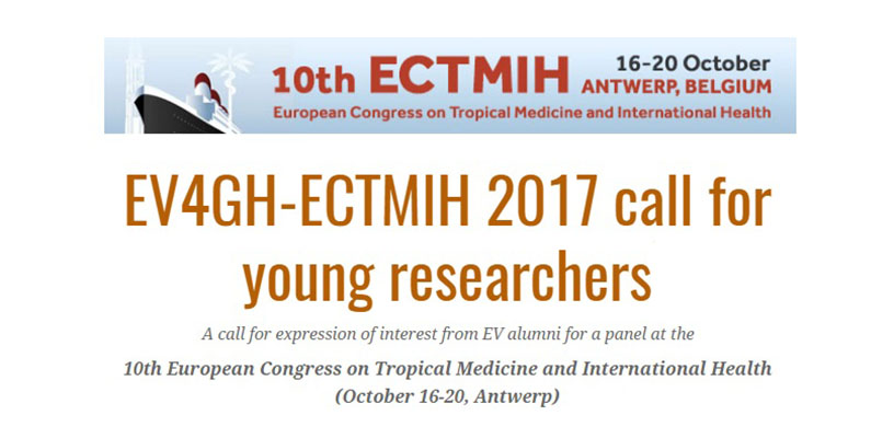 EV4GH-ECTMIH 2017 call for young researchers