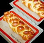 8 egg yolk challah bread