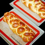 8 egg yolk challah bread