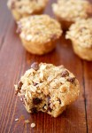 Oatmeal chocolate chip Greek yogurt muffins
