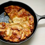 Dutch apple baby pancake