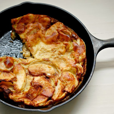 Dutch apple baby pancake