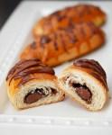 Cheater's pain au chocolat (Chocolate filled croissants)
