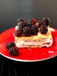 Fruit jam icebox cake