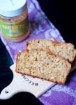Pumpkin spice cookie butter banana bread