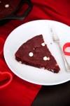 Red velvet skillet cookie