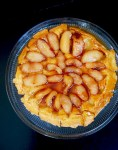Asian pear tarte tatin