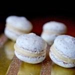 White chocolate macarons