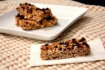 Chocolate chip cereal bars