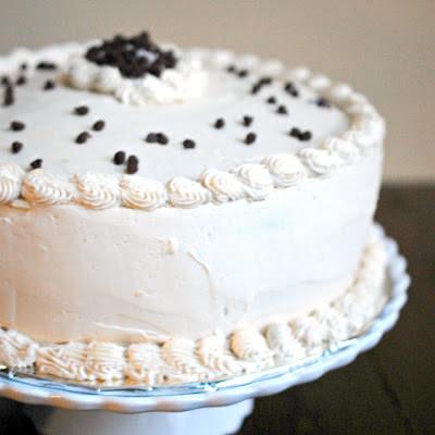 Brown sugar cookie dough layer cake