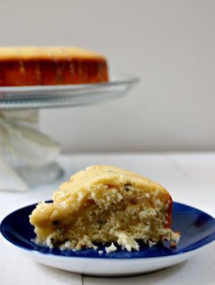 Lemon basil cake