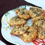 Oatmeal raisin cinnamon chip cookies