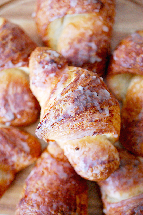 mascarpone cream filled croissant