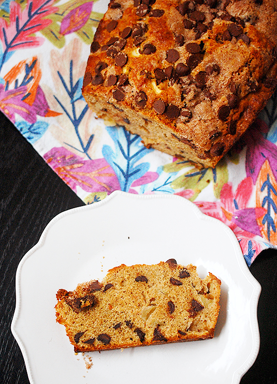 apple chocolate chip bread