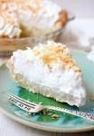 Dahlia Bakery triple coconut cream pie