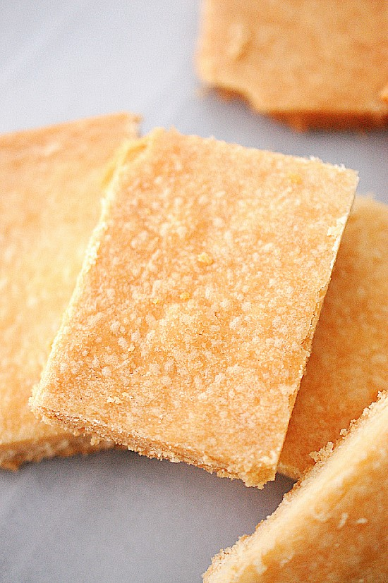 Ted Lasso's shortbread biscuits