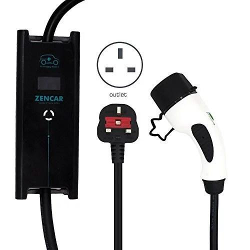 UK 3 Pin Plug to Type 2