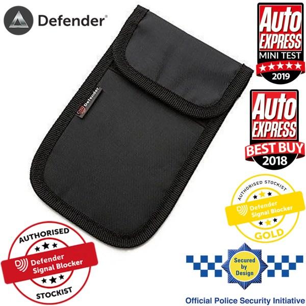 Defender Signal Blocker Authorised Stockist Secured By Design Black OT01119
