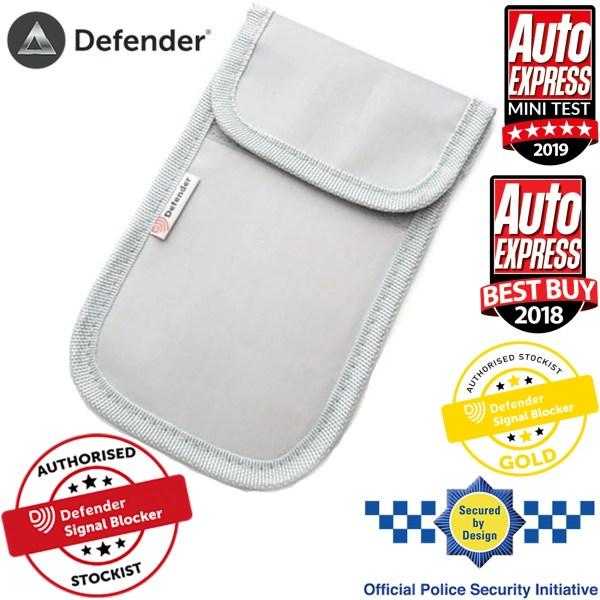 Defender Signal Blocker Authorised Stockist Grey OT01118 SBD