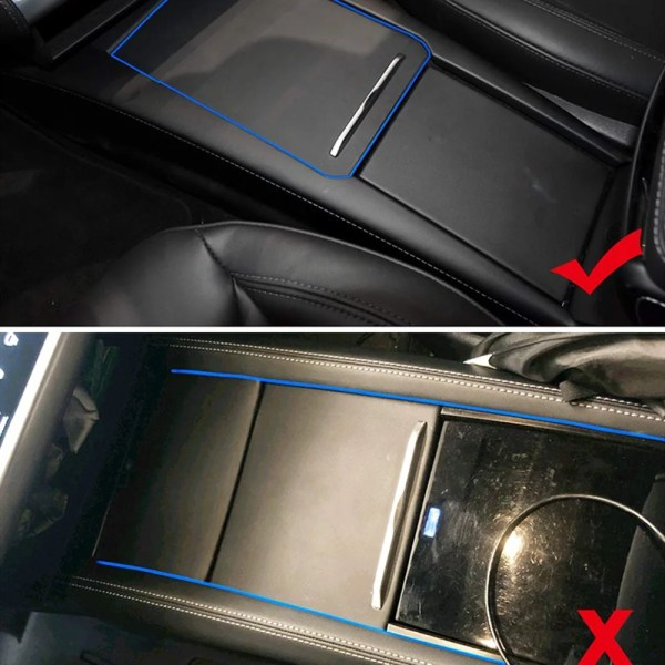 Tesla Model S Model X Centre Console Organiser Tray