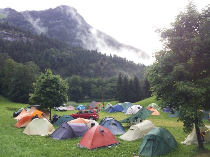 NSAC camping Innertkirchen