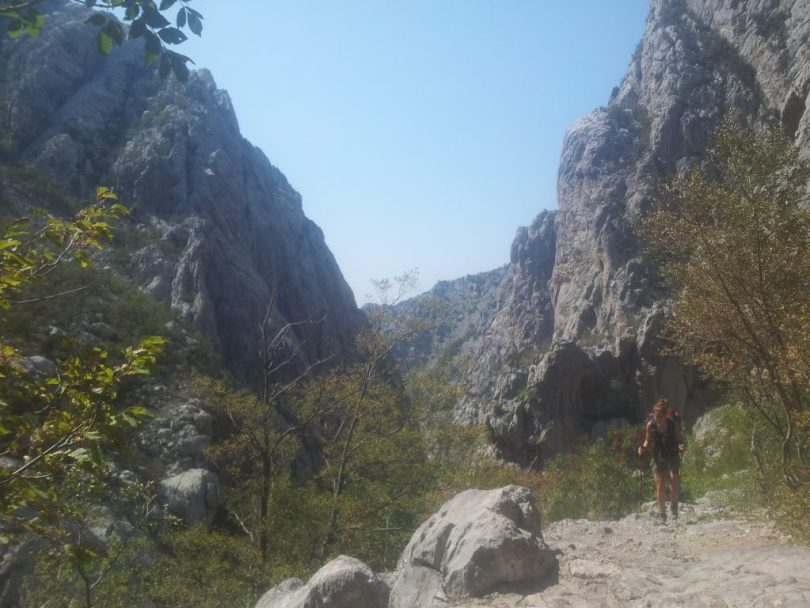 The-way-back-through-Velika-Paklenica-hiking-via-dinarica-croatia