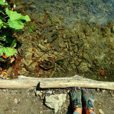 FiveFingers at Plitvice lakes
