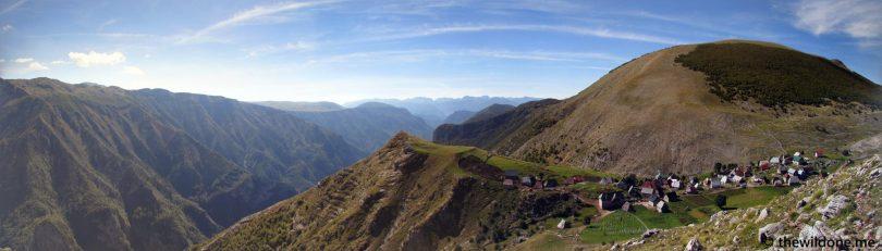 Panorama Lukomir, Bosnia en Herzegovina
