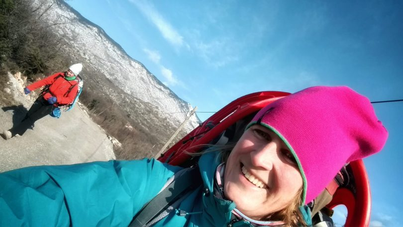 Velebit Winter Hike with Sytske | One month in Zagreb