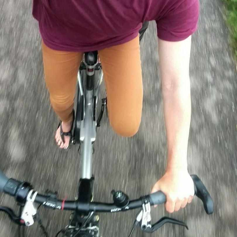 What do you do when you're in The Netherlands, but don't want to pay a train ticket? You BIKE