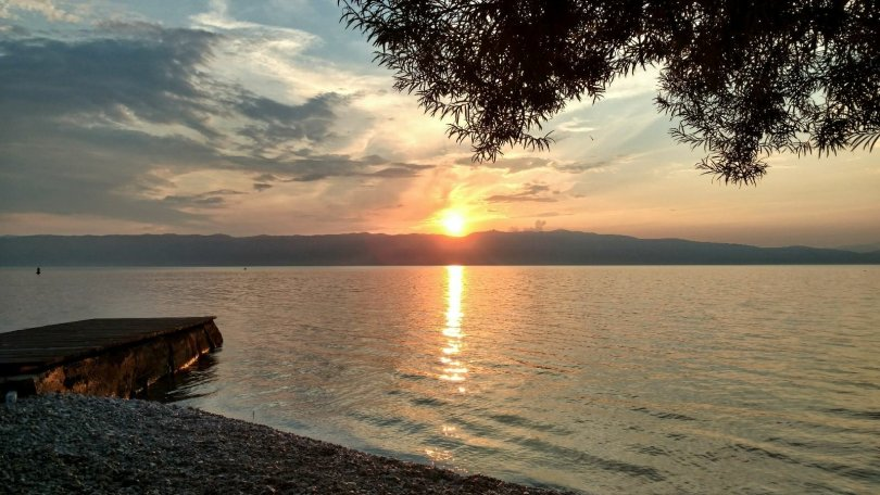 Sightseeing Ohrid | Trpejca sunset