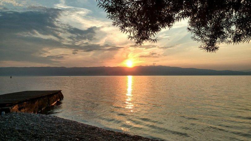 Sightseeing Ohrid | Trpejca sunset