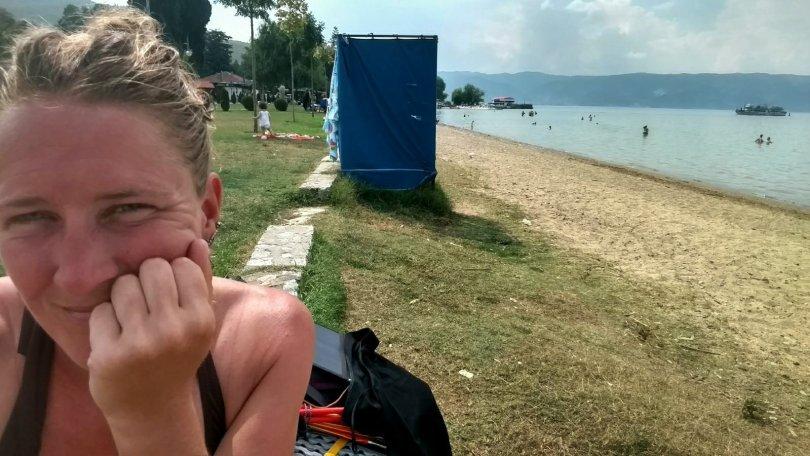 Sightseeing Ohrid   beach
