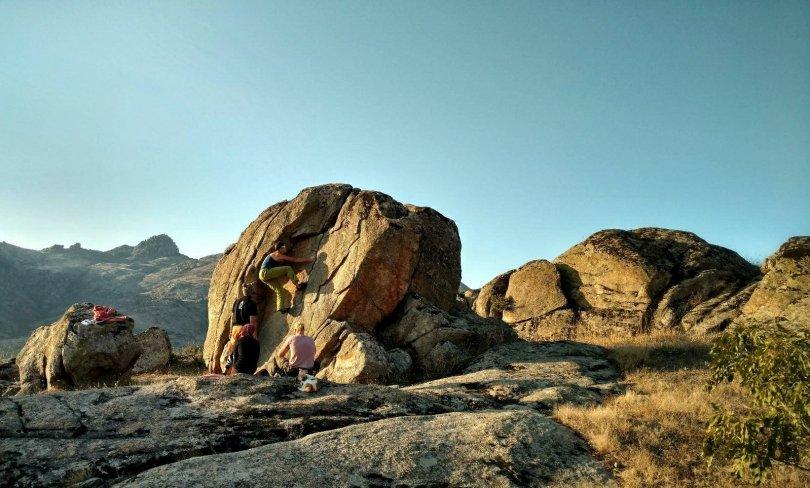 First boulder in Prilep