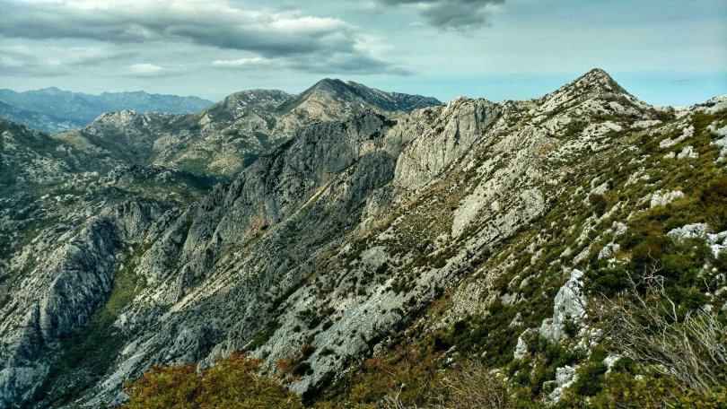 Primorska Planinarska Transverzala Montenegro