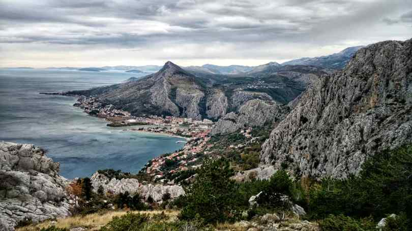 Via Dinarica HR Blue Trail | Omiš from above ✌️