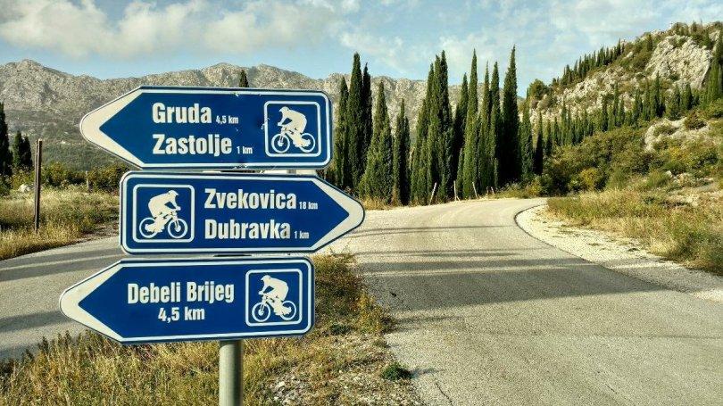 Almost back on the Via Dinarica Croatia