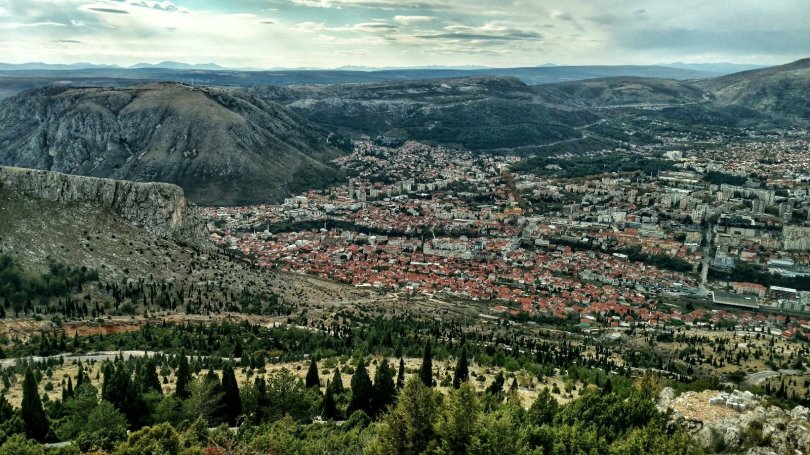 View on Mostar