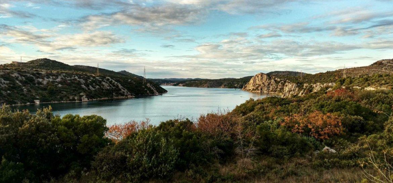 Krka National Park with Krka river, Croatia