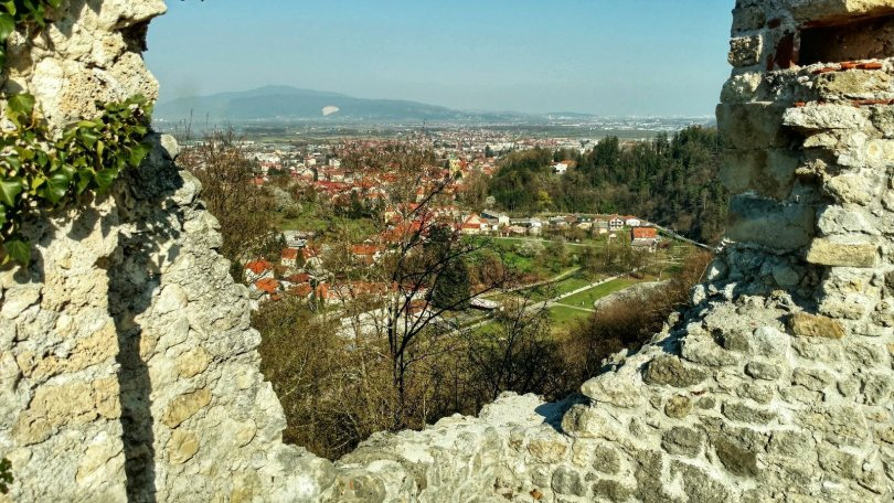 View from Samobor Dvorac