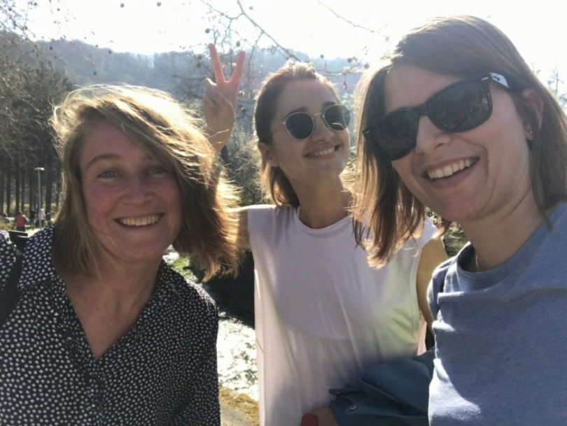 Exploring Samobor selfie