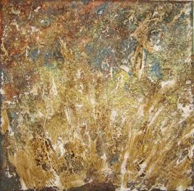 Herbst, 2012 Leinwand 20 x 20 cm