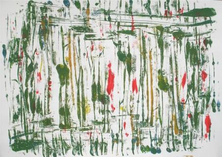 Elfen, 2000, mit Rahmen, 50 x 70 cm