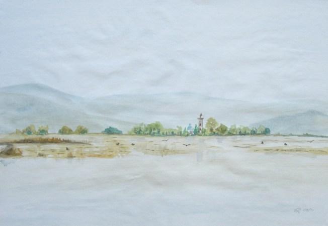 Barbana, 2000, mit Passepaout und Rahmen 50 x 70 cm